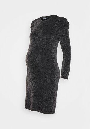 PCMSANNA GLITTER DRESS - Jersey dress - black