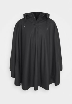 UNISEX CAPE - Impermeable - black