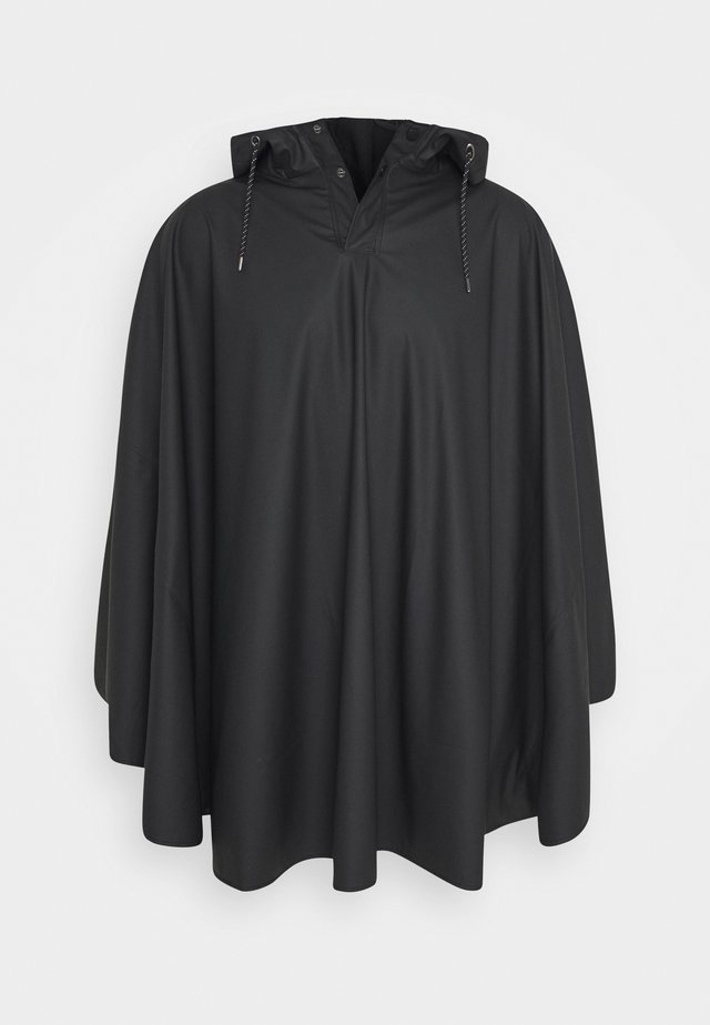 UNISEX CAPE - Impermeabile - black