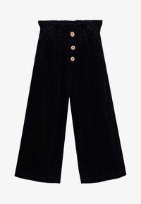 Mango - LINA - Trousers - černá - 0