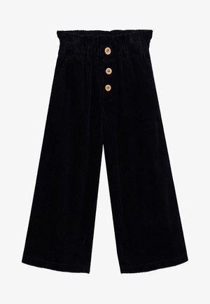 LINA - Kalhoty - černá