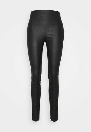 VIMAYRA  - Pantaloni di pelle - black