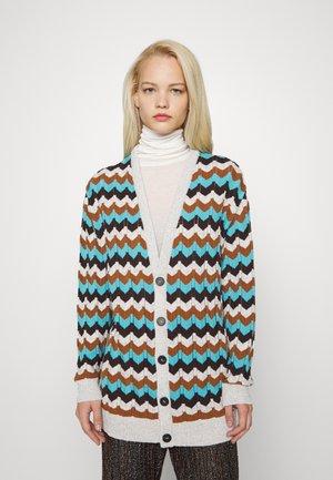 LONG CARDIGAN - Cardigan - multicolor