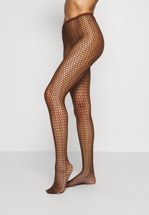 FALKE HIT 15 DENIER STRUMPFHOSE TRANSPARENT FEIN - Tights - caramel