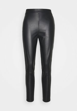 FLAVIO TROUSERS - Leggings - Trousers - black