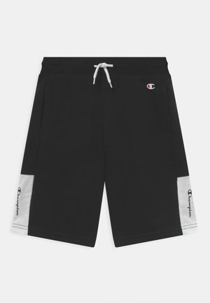 COLOR BLOCK BERMUDA UNISEX - Pantaloncini sportivi - black
