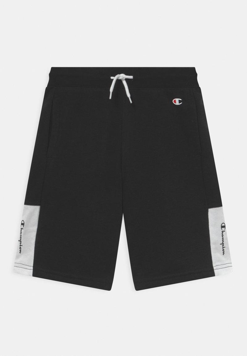 Champion - COLOR BLOCK BERMUDA UNISEX - Short de sport - black