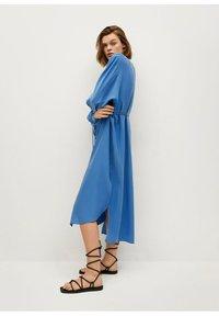Mango - Skjortekjole - blau - 1