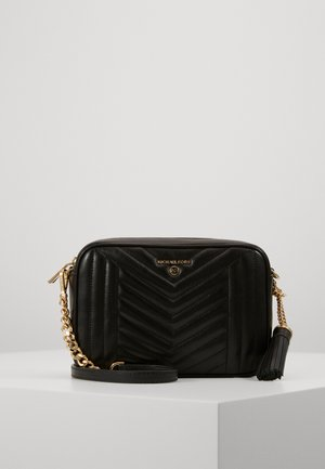 JET SET CHARMMD BAG - Torba na ramię - black