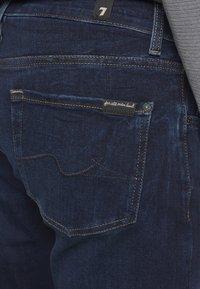 7 for all mankind - TEK ORION - Džíny Slim Fit - dark blue - 4