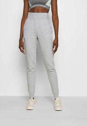 HIGH WAIST PANTS - Trainingsbroek - light grey melange
