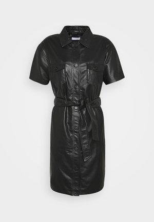 FRODEY - Shirt dress - black