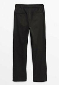Massimo Dutti - Trousers - black - 1