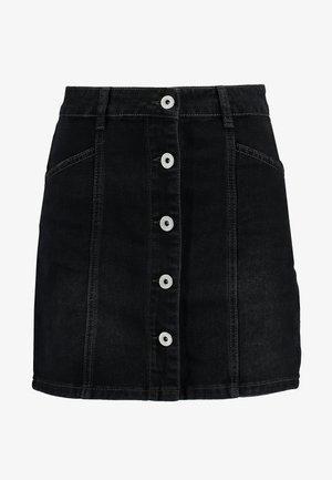 SKYE SKIRT - Denim skirt - vintage black