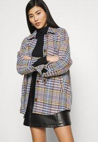 Anna Field - PU leather mini skirt - Minisukně - black - 3