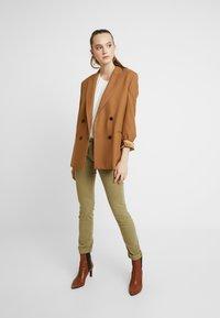 Pepe Jeans - KATHA - Spodnie materiałowe - brown olive - 2