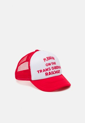 TRUCKER UNISEX - Kšiltovka - red