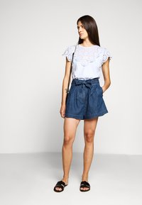 J.CREW - PAPER BAG - Denim shorts - santa ana wash - 1