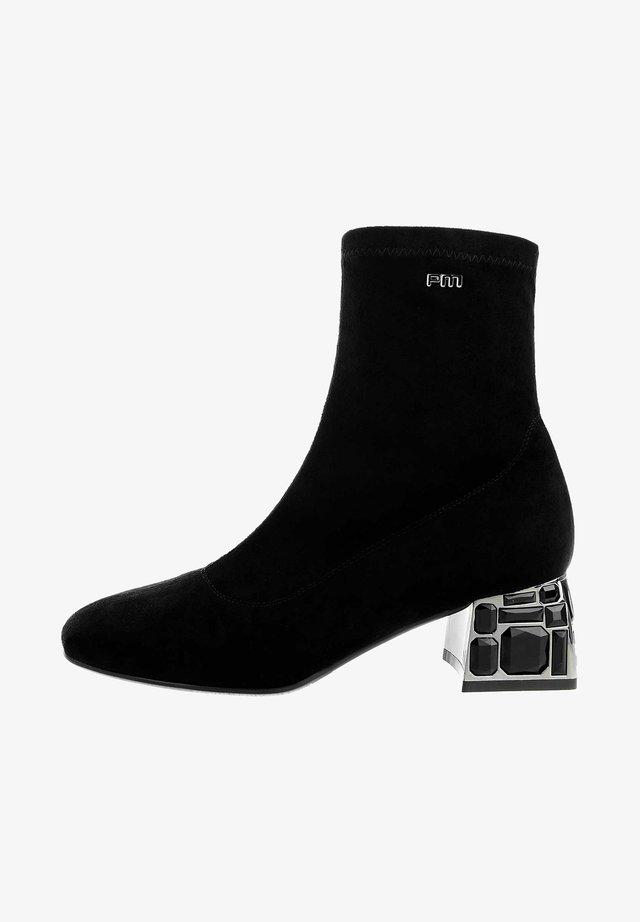 ALBANA - Korte laarzen - black