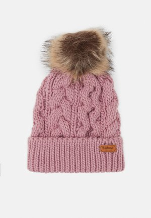 PENSHAW CABLE BEANIE - Mütze - pink