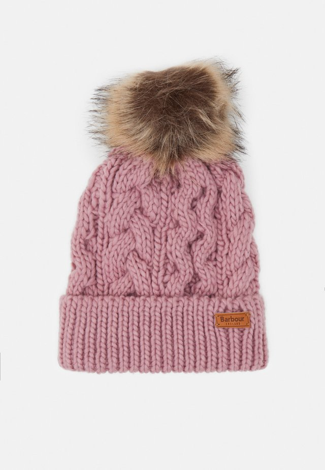 PENSHAW CABLE BEANIE - Czapka - pink