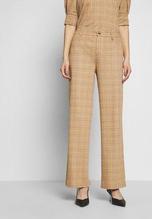 DRIFANGO PANTS FASHION FIT - Pantalones - beige