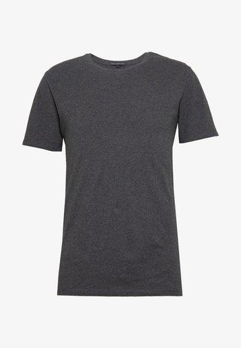 CARLO - T-shirt basique - anthra