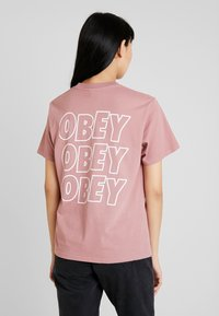 Obey Clothing - JUMBLE - Long sleeved top - mauve - 0