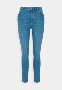 TOM TAILOR DENIM - JANNA - Jeans Skinny Fit - azur blue denim - 0