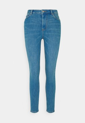 JANNA - Jeansy Skinny Fit - azur blue denim