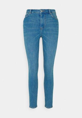 JANNA - Jeans Skinny Fit - azur blue denim