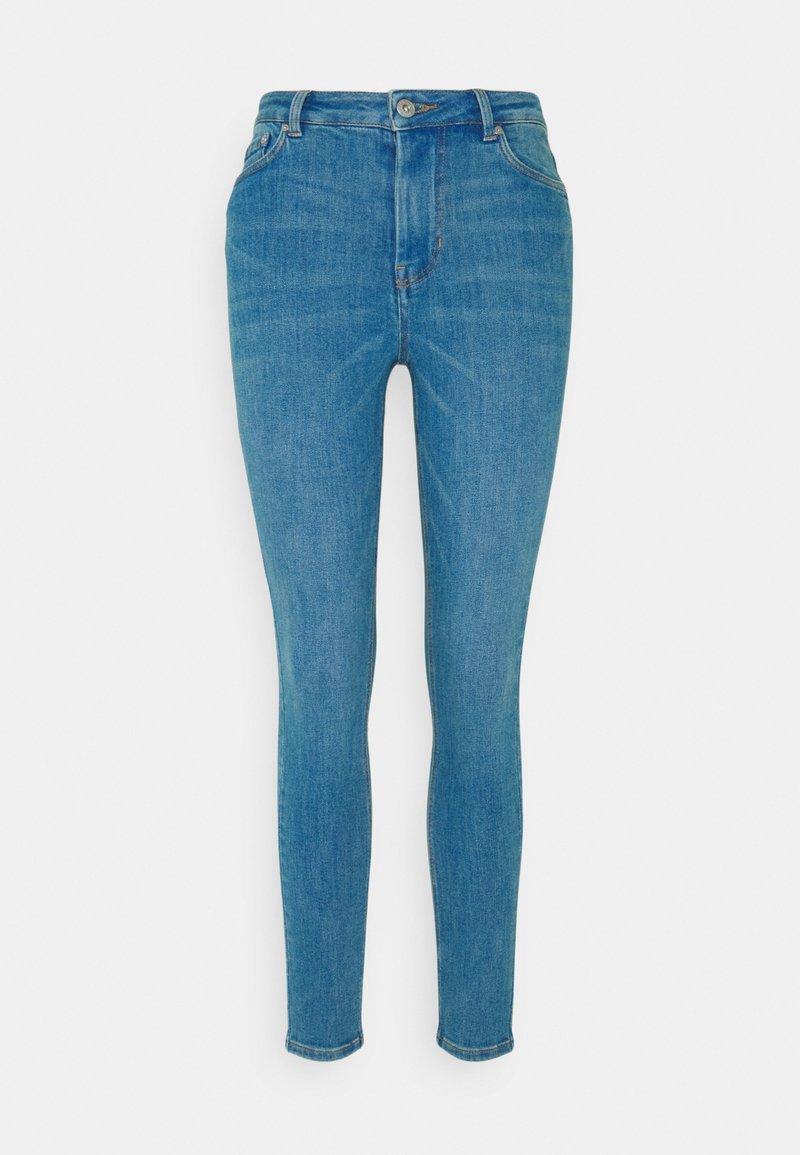TOM TAILOR DENIM - JANNA - Jeans Skinny Fit - azur blue denim