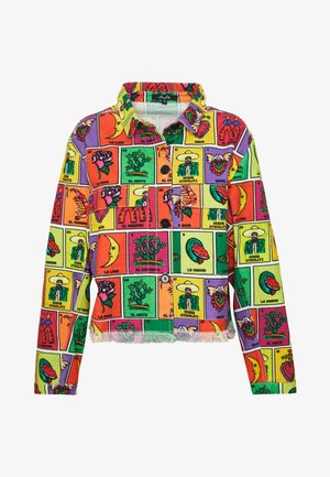 GUADALUPE JACKET - Denim jacket - multicoloured