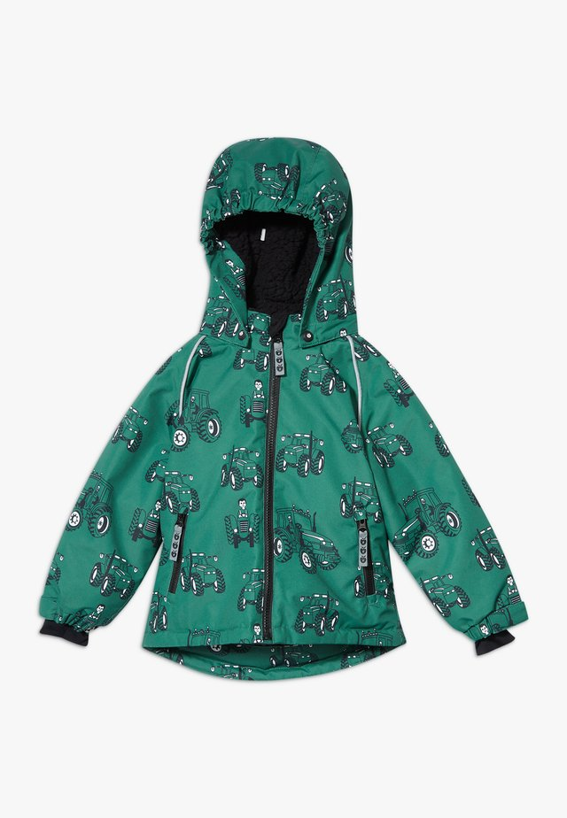 WINTER BOY TRACTOR - Winter jacket - hunter green