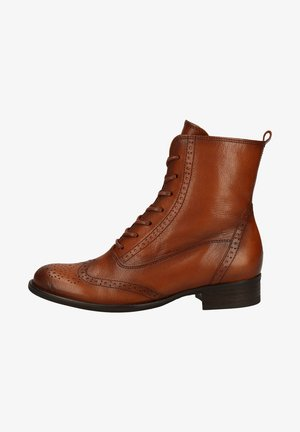 Lace-up ankle boots - new whisky(effekt)