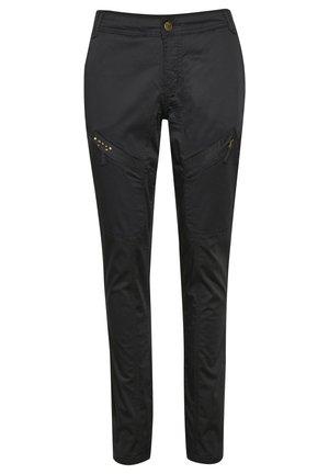 LONG MALOU FIT - Kalhoty - black