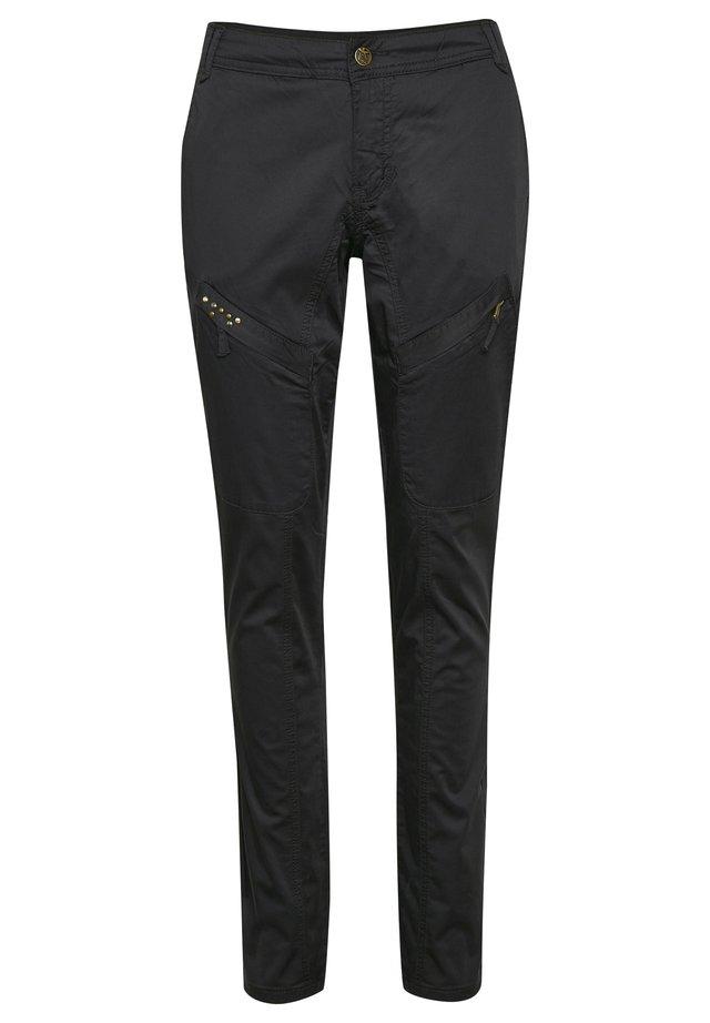 LONG MALOU FIT - Bukser - black