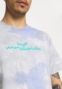 HUF - CHEMISTRY TEE - Print T-shirt - violet - 4
