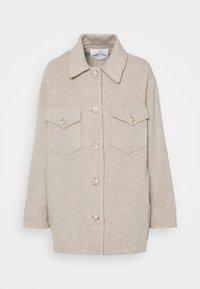 MUSE OVERSHIRT - Summer jacket - brown rice