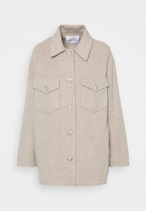 MUSE OVERSHIRT - Summer jacket - brown rice