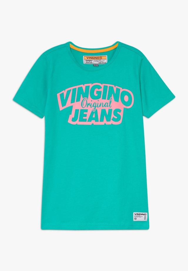 HAJA - Print T-shirt - new ocean
