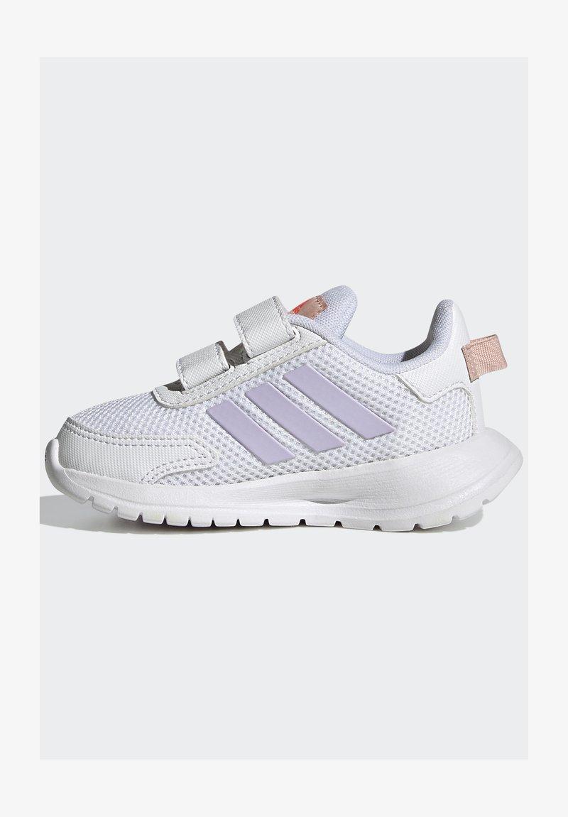 adidas Performance - TENSAUR RUN UNISEX - Neutral running shoes - ftwr white/purple tint/vapour pink