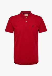 Selected Homme - SLHARO EMBROIDERY - Polo shirt - red - 5