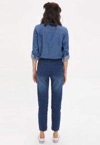 DeFacto - Jean slim - blue - 2