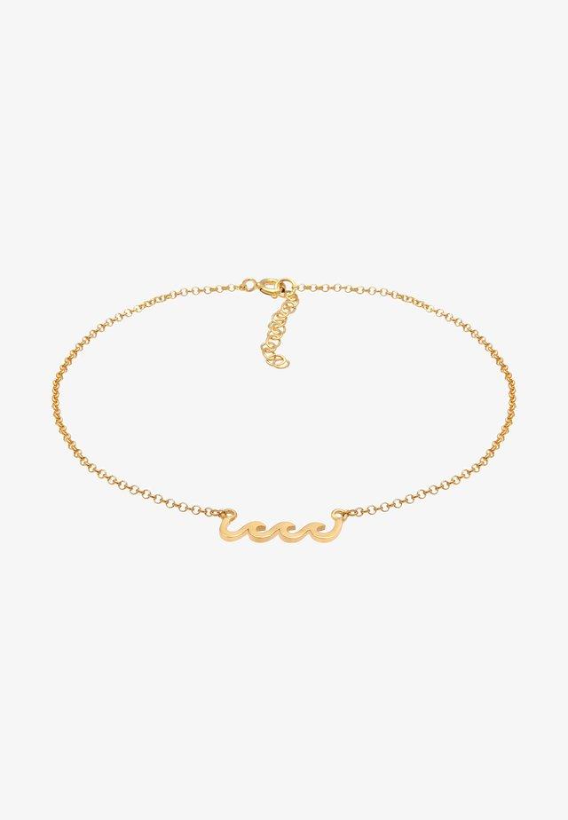 WELLEN MEER STRAND SOMMER  - Armband - gold