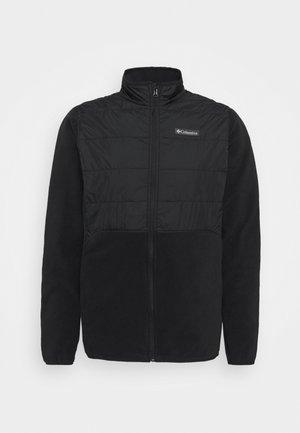 BASIN BUTTE™ FULL ZIP - Fleece jacket - black