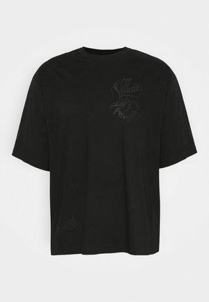 T-DELPHI-SLITS-A1 MAGLIETTA UNISEX - T-shirt imprimé - black