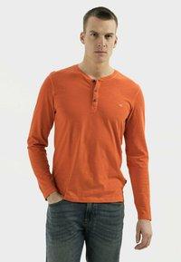 camel active - Long sleeved top - orange - 0