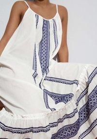 OYSHO - STRAPPY  - Day dress - white - 5