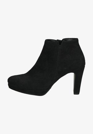High heeled ankle boots - schwarz 17